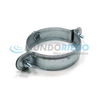 Abrazadera chapa tubo PVC Ø160mm M8