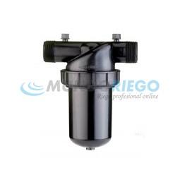 Filtro anillas manual RM 1.1/2 PQ corto 80 mesh ARKAL