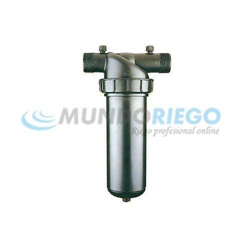 Filtro anillas manual RM 1.1/2 largo 140 mesh ARKAL