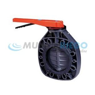 Cuerpo válvula mariposa PVC ø160mm serie classic PN6
