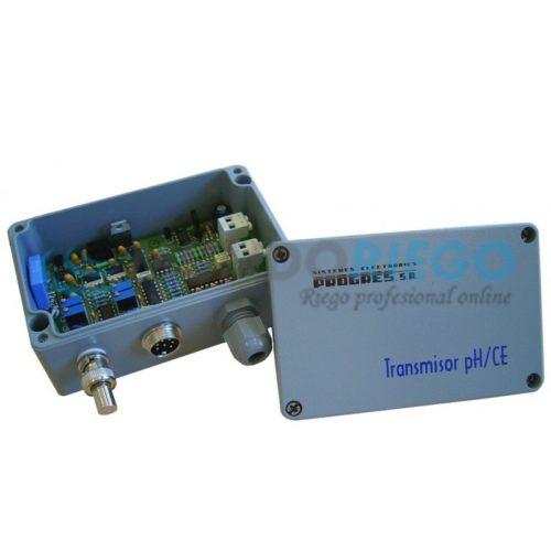 Transmisor sondas pH