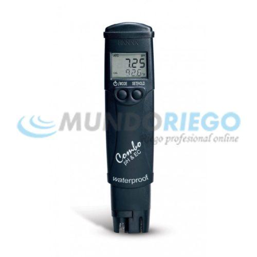 Medidor Combo de pH,CE, TDS y temperatura