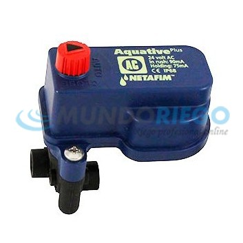 Solenoide Aquative 24V AC CONF2 DN:3.00mm