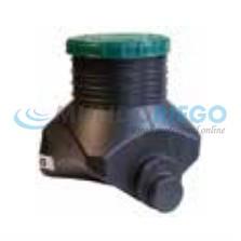 Arqueta de inspección para instalación de fosa séptica