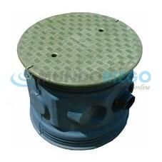 Realce REHC 600/580 con tapa para bocas de ø600