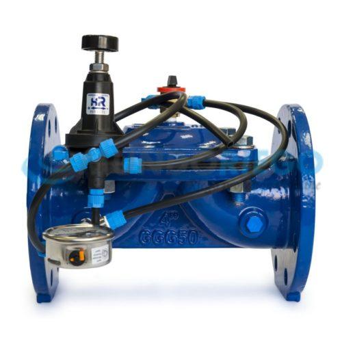 Válvula hidráulica fundición DN80 3'' sostenedora presión