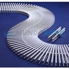 Rejilla transversal curvas reversible, 35mmx195mm R:00220