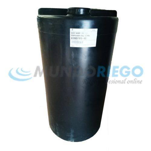 Depósito dosificador PEAD 250l negro