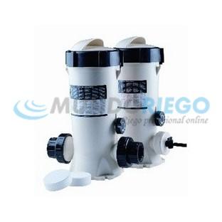 Dosificador cloro y bromo 3,5 kg Dossi-3 in-line R:24429