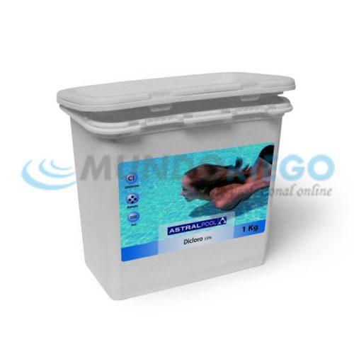 Desinfectante dicloro granulado 55% 5kg R:11394
