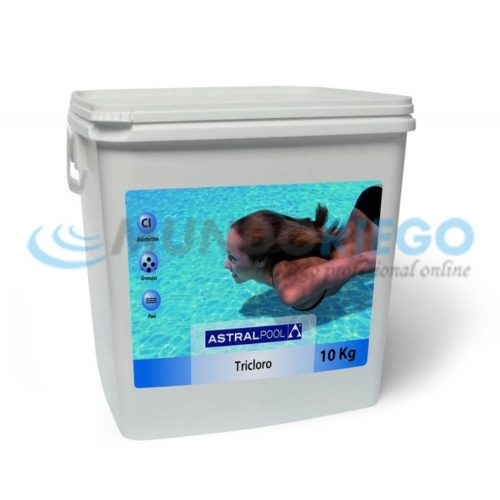 Desinfectante compacto tricloro 250gr 25kg R:34436