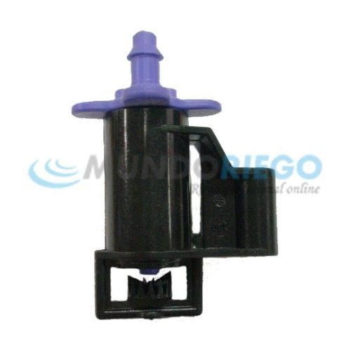 Microaspersor DAN -JET PC espita 4/7'' boq. violeta 47l/h
