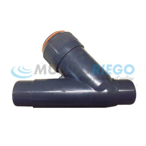 Filtro malla inclinado PVC ø32mm rosca macho 1.1/4''