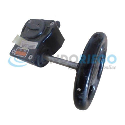 Reductor engranaje válvula mariposa ø80-ø160mm