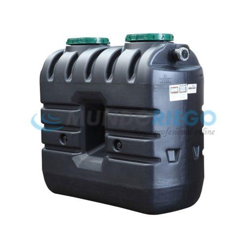 Fosa séptica Epurbloc 1500 Rect filtro biológico 3-5 habit.