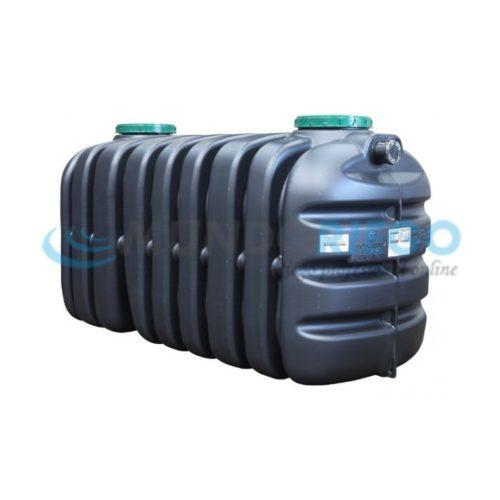 Fosa séptica Epurbloc 3000 Rect filtro biológico 6-8 habit.