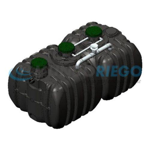 Fosa séptica depuradora oxidación total Actibloc 35-25 QR LT