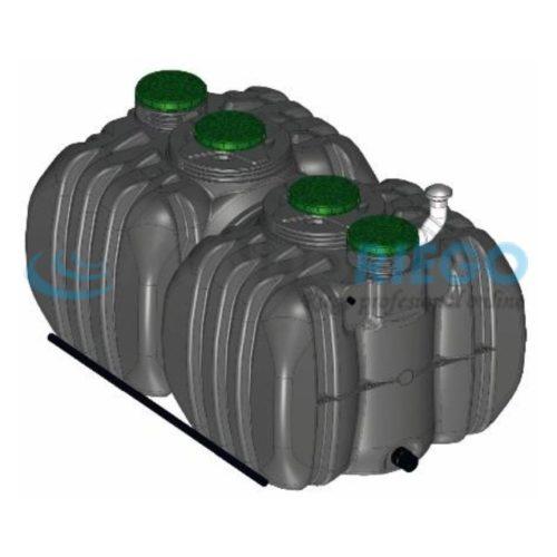 Fosa séptica depuradora oxidación total Actifiltre 2500-2500 QR