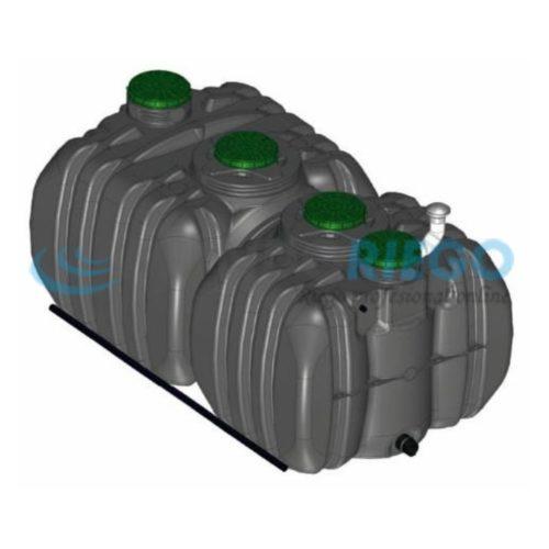 Fosa séptica depuradora oxidación total Actifiltre 3500-2500 QR