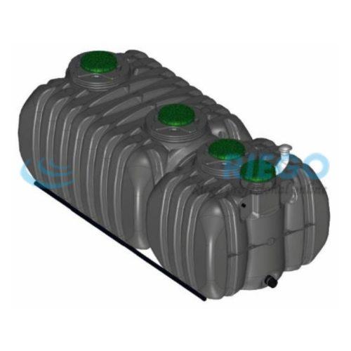 Fosa séptica depuradora oxidación total Actifiltre 5000-2500 QR