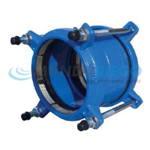 Unión Antitracción ø110mm para PVC y PE