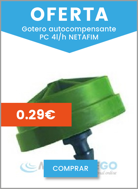 Filtro malla inclinado PVC transparente ø15mm rosca macho 1/2''