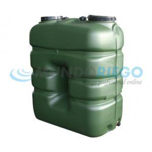 depósito de agua rectangular