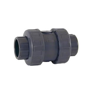 Válvula retención PVC rosca hembra muelle 1.1/4''