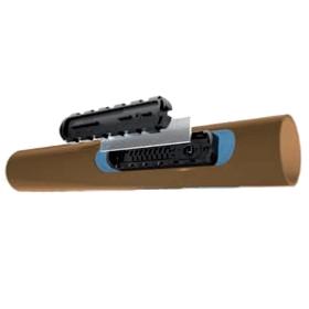 Tubería AZUD PC-SYSTEM Ø16mm c/50cm 4l/h e:1mm R:400m